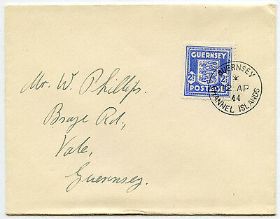 GUERNSEY 1944 OCCUPATION 2 1/2d FIRST DAY COVER VERY FINE