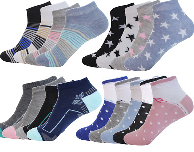 12 Paar Socken Damensocken Herrensocken Kurzsocken Business Sneaker socken