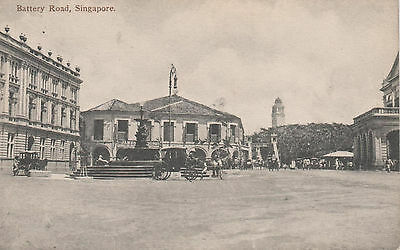 Singapore: Flint's Building At Battery Road Unposted   475