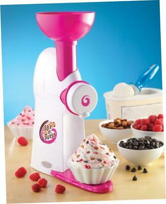 NEW Nostalgia Electrics MTC100 Mix 'N Twist Ice Cream and Toppings Mixer