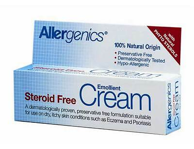 Allergenics Non-Steroidal Emollient Cream 50ml - Dry Itchy Skin Conditions