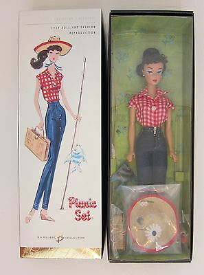 Barbie Picnic Set~Gold Label 2005~Collectors Request~Repro of 1959~NRFB
