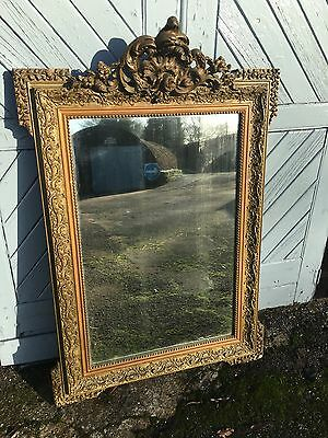 Antique French Gilt Frame Mirror