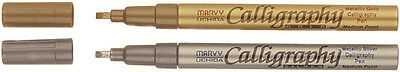 Deco Color Calligraphy Opaque Paint Marker 2mm Gold 125C-GLD
