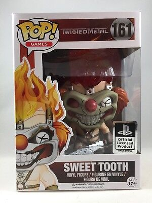 Funko POP Games Sweet Tooth Twisted Metal 161 Vinyl Figure SHIPS TODAY 11709
