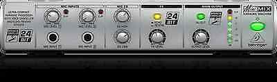 BEHRINGER MINIMIX MIX800 Karaoke Processor with Voice Canceller and Echo/Reverb