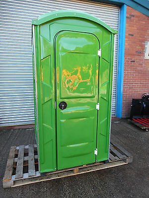 *new Portable Chemical Fibre Glass Toilet, Builders, Site Loo * Vat Included