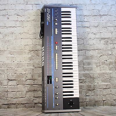 Vintage Korg Poly 61 Synthesizer Keyboard W/ Bag