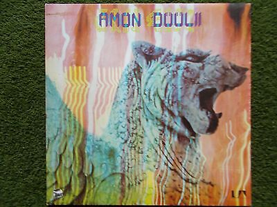 "Amon Duul Ii - ""wolf City ""  Vinyl 1972 Uag 29406  Excellent Condition"