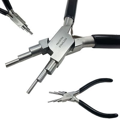 Wire Forming Making Bail Making Pliers 6 in 1 Looping Jump Ring Jewelry Plier