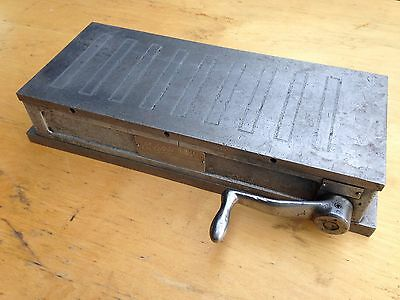 Eclipse Magnetic Chuck 14 x 6 Inch Engineers Milling Machinist Tool