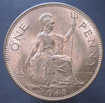 1948 GB George VI Penny (with Lustre) S.4114 (P3)