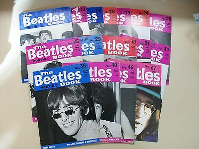 16 ISSUES The Beatles Monthly 1964-1969