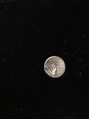 1997 1/10 oz United State Platinum Eagle - Statue of Liberty $10 Coin