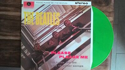 THE BEATLES. PLEASE PLEASE PLEASE ME LP VINILE colorato