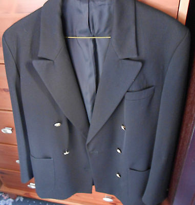 Ladies smart Black jacket by M&S Size 12