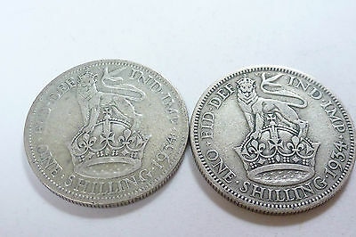 King George V Shilling 1911 - 1936 Choose your year