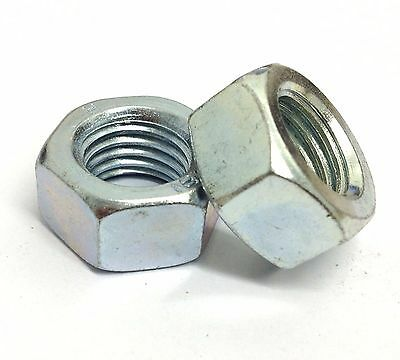 M5 Full Nuts Hex 5 / 10 / 25 / 50 / 100 / 250 / 500 / 750 pack sizes