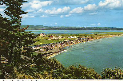 postcard Ireland  Tramore bay, Co Waterford  posted  Hinde