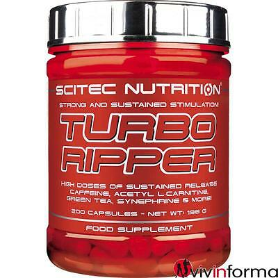 Scitec TURBO RIPPER 200 cps brucia grassi termogenico fat loss