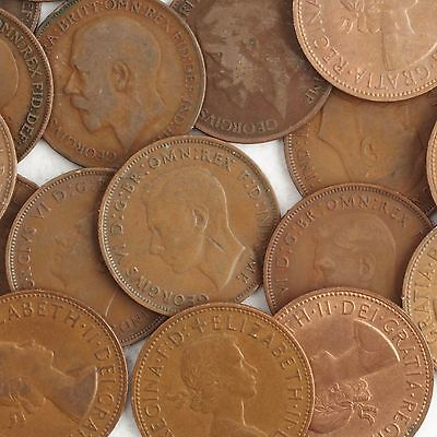 Old British One Penny Coins - 1800s - 1967 Choose Your Year - 1p