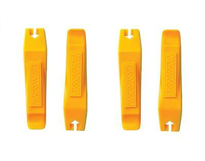 Set of 4 PEDRO'S TIRE LEVERS Bicycle Tube & Tire Change Levers Yellow