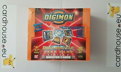 Digimon Booster Box Digi Battle Series 2 Orange Version Sealed Upper Deck Bandai