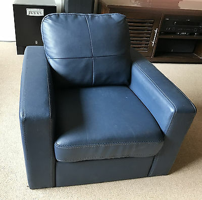 Toddler Leather Armchair