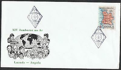 Angola: 1972? Luanda Jamboree pictorial cover with commemorative pmk TS322