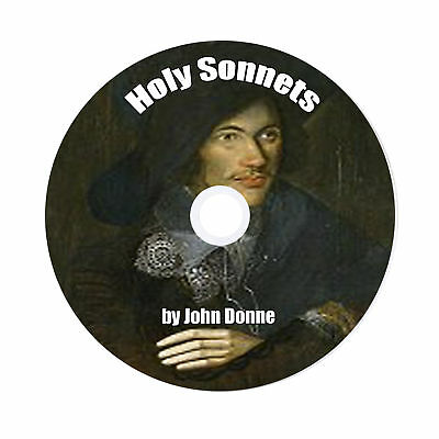 Holy Sonnets, John Donne, 1 Audio CD