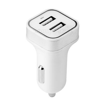 Mini Dual 2 USB Port Car Charger Power Adapter For Android iPhone 5 5s 6s 7 Plus
