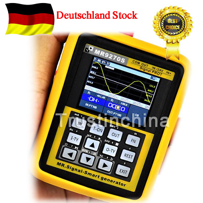 Handheld Multifunctional Signal Generator Contain Logger PID Frequency MR9270S