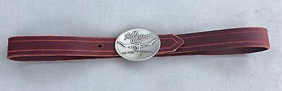 """RM Williams Belt Buckle with 40"""" - 43"""" 1 1/2"""" Wide Leather Belt - New"""