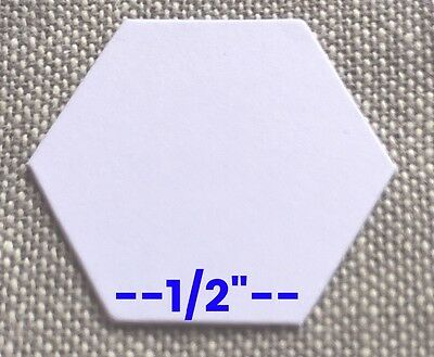 """1/2"""" Hexagons - Pack of 200 - English Paper Piecing - Special Intro Price!"""