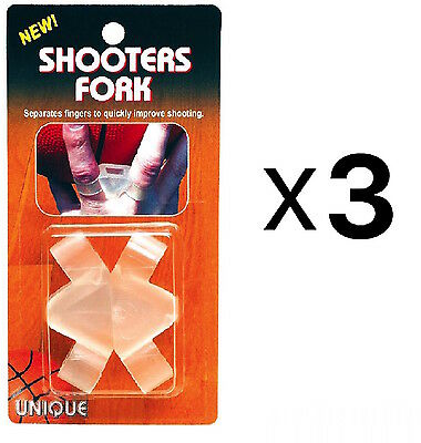 Unique Basketball Shooters Fork Ball Grip & Shooting Training Control (3-Pack)