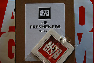 Autoglym Air Freshener X 50 Brand New Stock & Sealed With Free Recorded P&p!