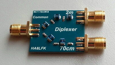 Diplexer for 2m 70cm RTL SDR PMR radio HAM Amateurfunk radio
