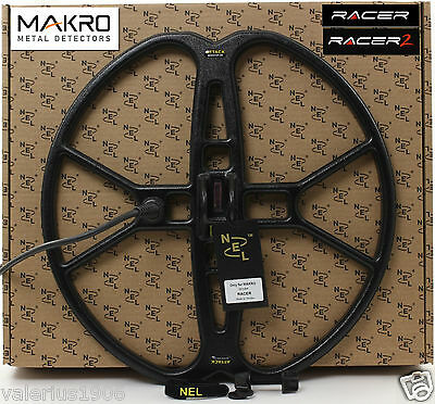 "New NEL ATTACK 15""x15"" DD search coil for Makro Racer + coil cover + fix bolt"