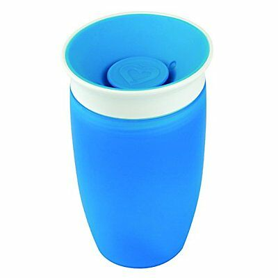 Munchkin Miracle 360 Degree Sippy Cup 296 ml Blue Toddler Kids Leak Spill Proof