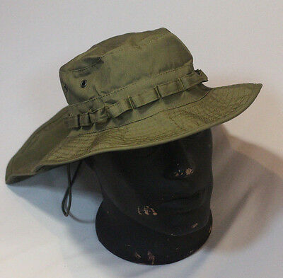 Russian Boonie Hat Neck Protection Detachable Tail Ripstop OD Green Pattern