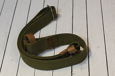 Authentic Red Army Soviet Mosin Nagant 91/30 rifle carrying sling Green colour