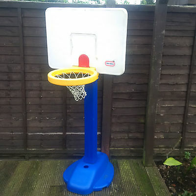 little tikes adjust n jam basketball