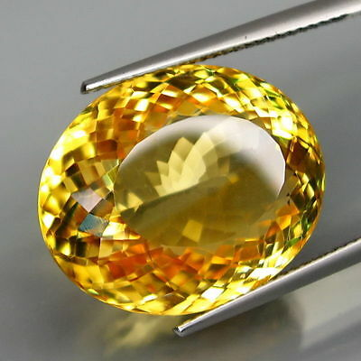 24,27 CTS EXCELENTE CITRINO NATURAL - Natural HUGE Yellow Citrine Brazil