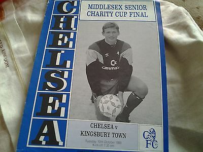 chelsea v kingsbury 89.90 middlesex sen charity cup final