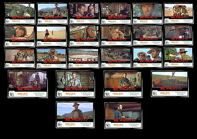"24 Photos Japan Cinéma ""The Good, The Bad and the Ugly"" S.Leone / C. Eastwood"