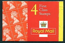 HB12 Elliptical 4 x 1st Class NVI Booklet Walsall