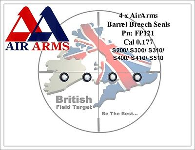 S701+ Air Arms Extended Seal Service Kit for s400 s410 s300 s310 MPR TDR