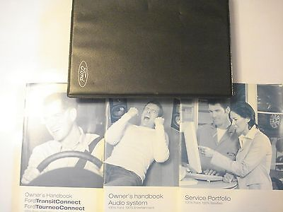 Ford Transit Connect Handbook Owners Manual, Audio & Service Book From 2006 Van