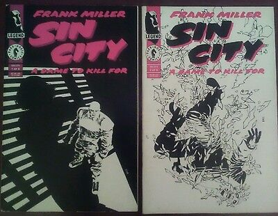 Sin City A Dame To Kill For issues 1 & 2