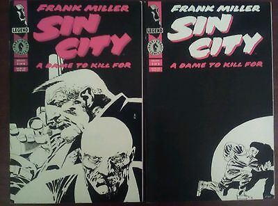 Sin City A Dame To Kill For issue 3 & 4